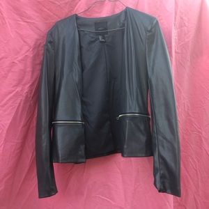 Forever 21 Faux Leather jacket/blazer